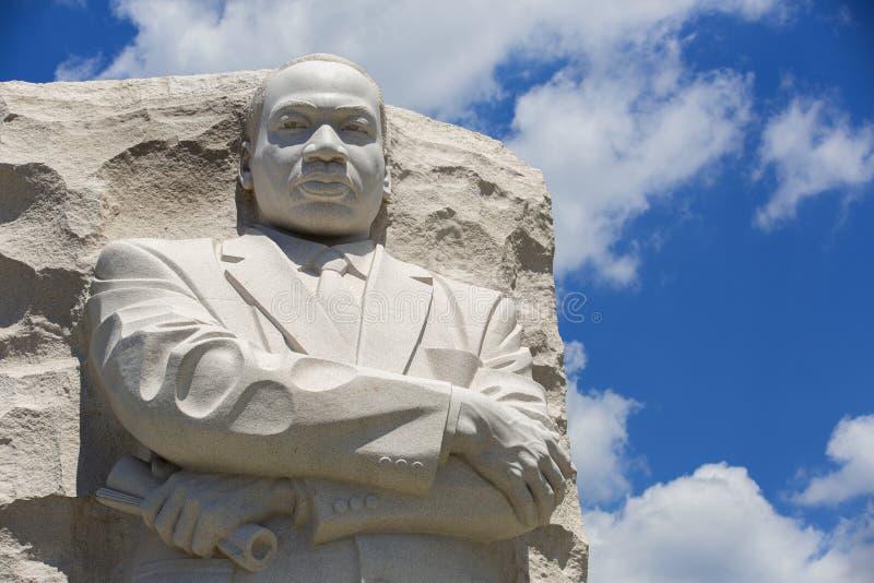 Het Standbeeld van Martin Luther King royalty-vrije stock fotografie