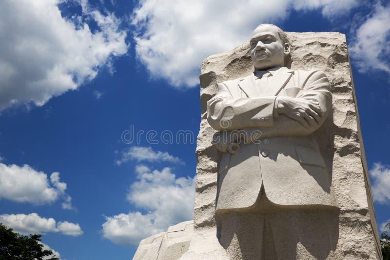 Het Standbeeld van Martin Luther King royalty-vrije stock foto's