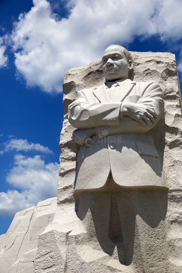 Het Standbeeld van Martin Luther King stock foto's