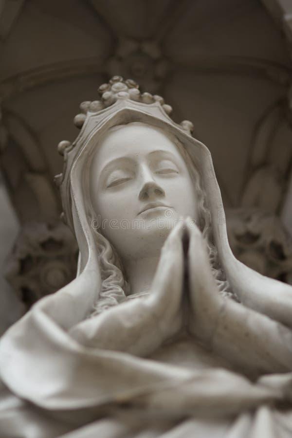 Het standbeeld van Moeder huwt stock foto