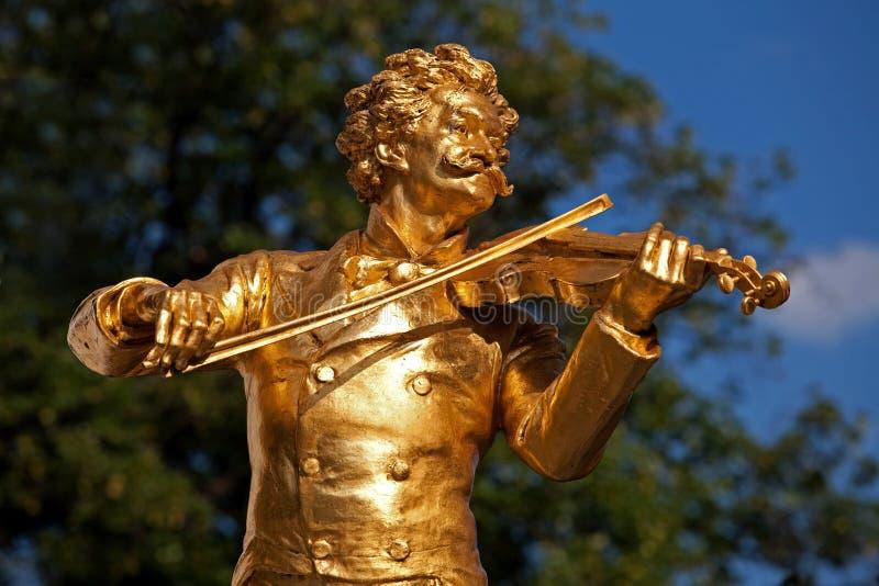 Het standbeeld van Mozart royalty-vrije stock foto