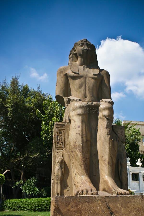 Het standbeeld van Pharaoh royalty-vrije stock fotografie