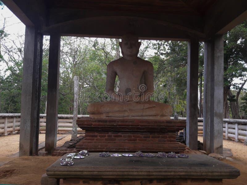 Het standbeeld van Samadhiboedha stock fotografie
