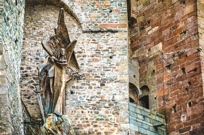 Het standbeeld van San Michele royalty-vrije stock fotografie