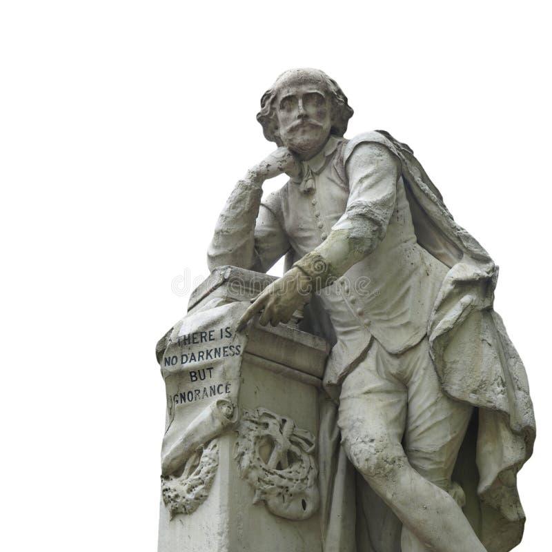 Het standbeeld van Shakespeare royalty-vrije stock foto