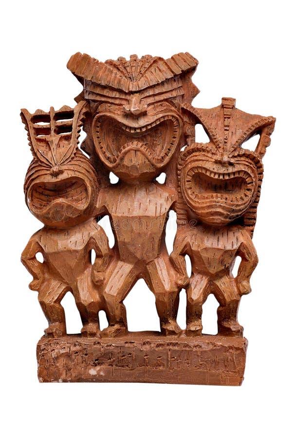 Het standbeeld van Tiki stock foto