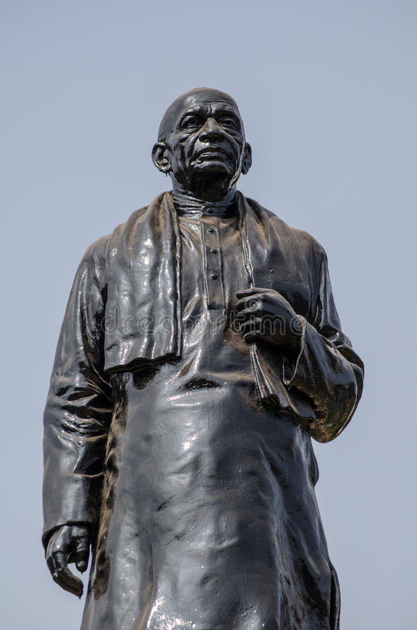 Het Standbeeld Van Vallbhbhai Patel Van Sardar Royalty-vrije Stock Foto