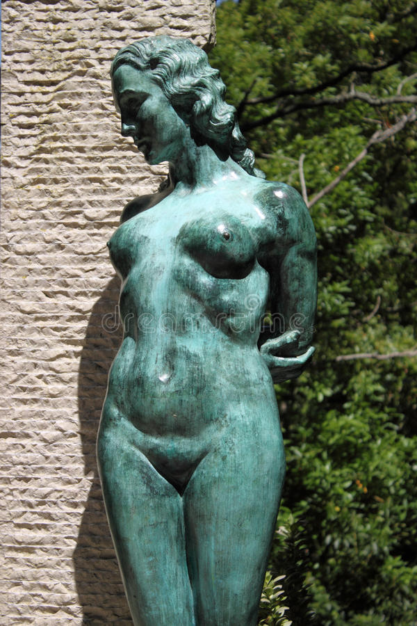 Het Standbeeld van vrouwen royalty-vrije stock fotografie
