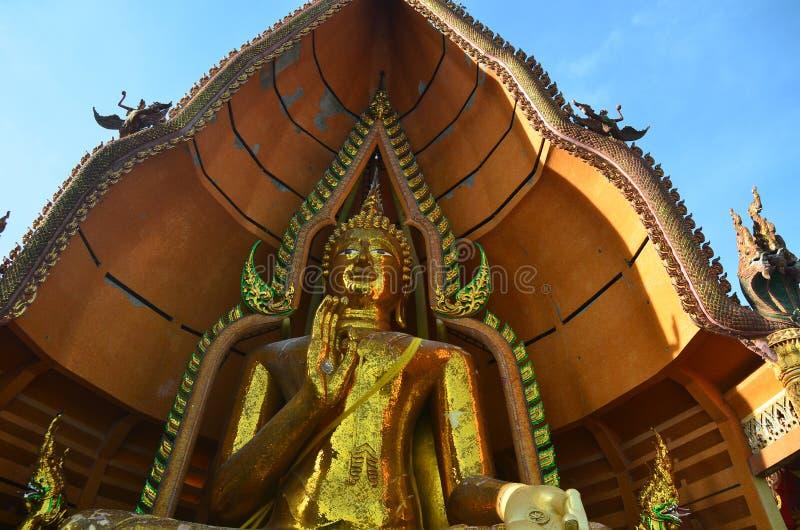 Het standbeeld Wat Tham Sua Kanchanaburi van Boedha royalty-vrije stock foto