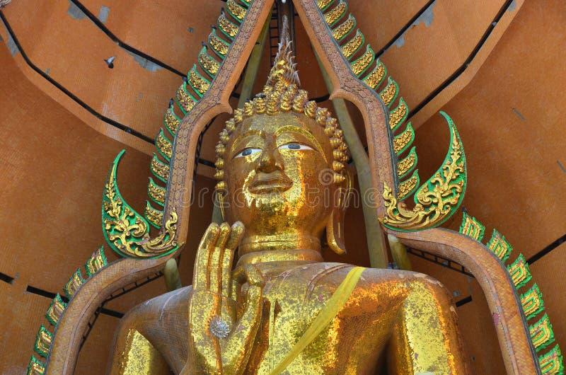 Het standbeeld Wat Tham Sua Kanchanaburi van Boedha royalty-vrije stock afbeelding