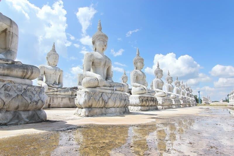 Het standbeeldpark van Boedha in Nakhon-Si Thammarat, Thailand royalty-vrije stock foto