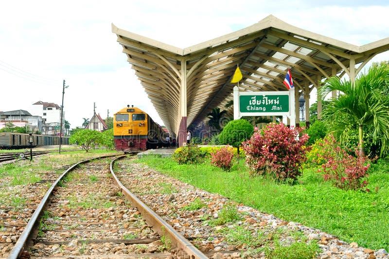 Het station van Chiangmai royalty-vrije stock foto's