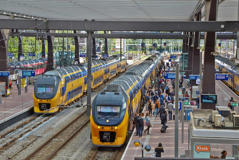 Het Station van Rotterdam Centraal royalty-vrije stock afbeelding