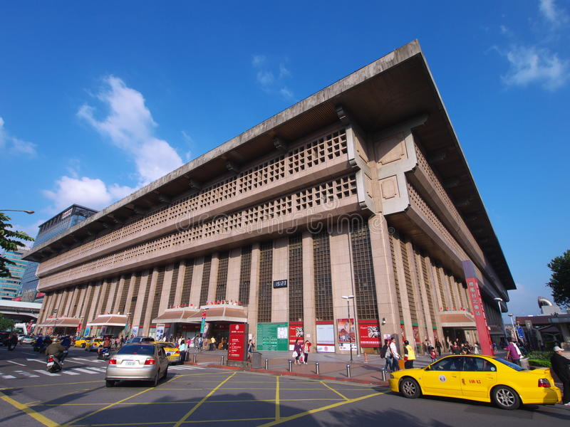 Het Station van Taipeh royalty-vrije stock fotografie