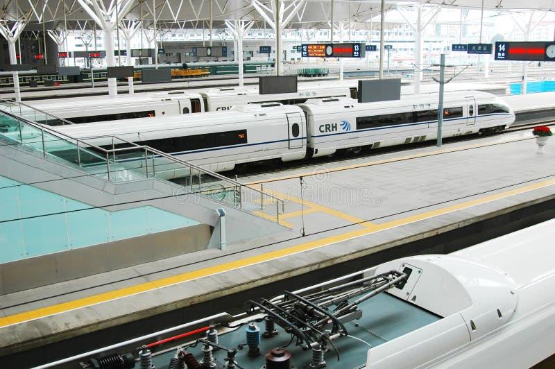 Het station van Tianjin stock afbeelding