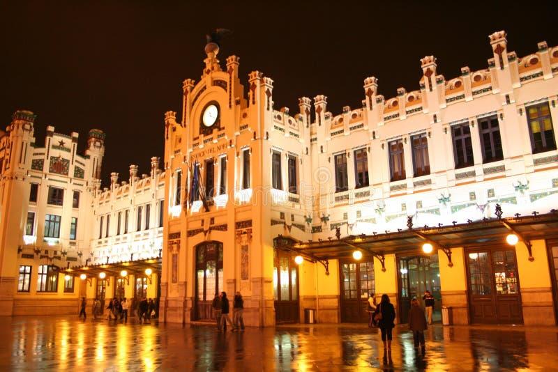 Het station van Valencia royalty-vrije stock fotografie