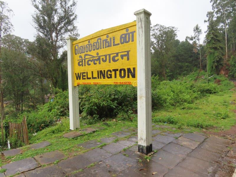 Het Station van Wellington royalty-vrije stock fotografie