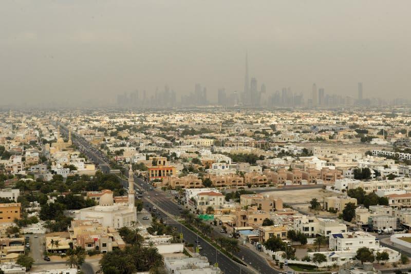 Het stedelijke landschap van Doubai royalty-vrije stock fotografie