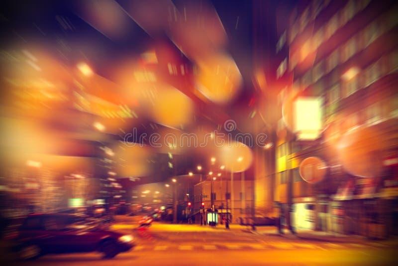 Het stedelijke leven bij stad stock afbeeldingen