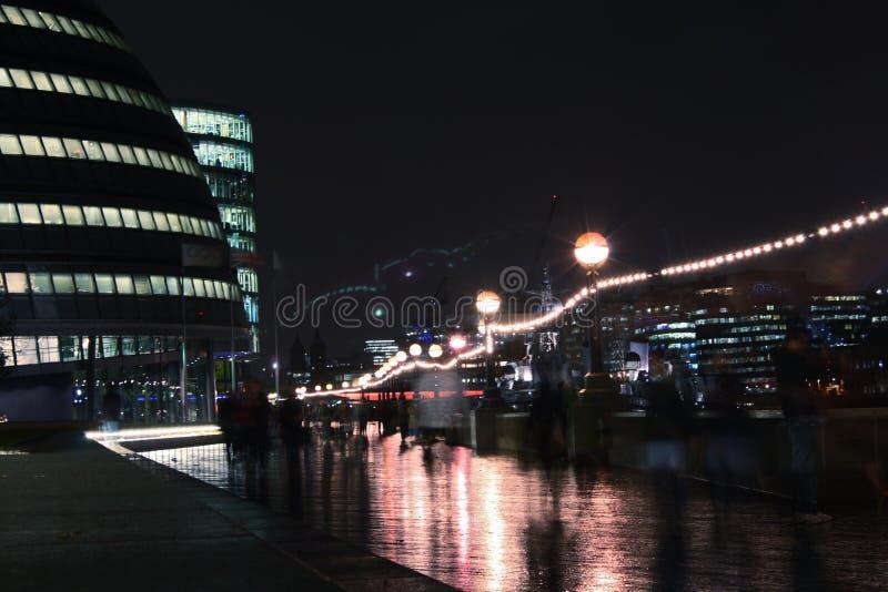 Het stedelijke leven in Londen, stadhuis. royalty-vrije stock foto