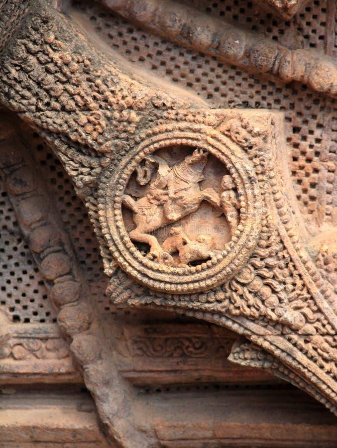 Het steenwerk in Konark tempel-27 royalty-vrije stock foto's