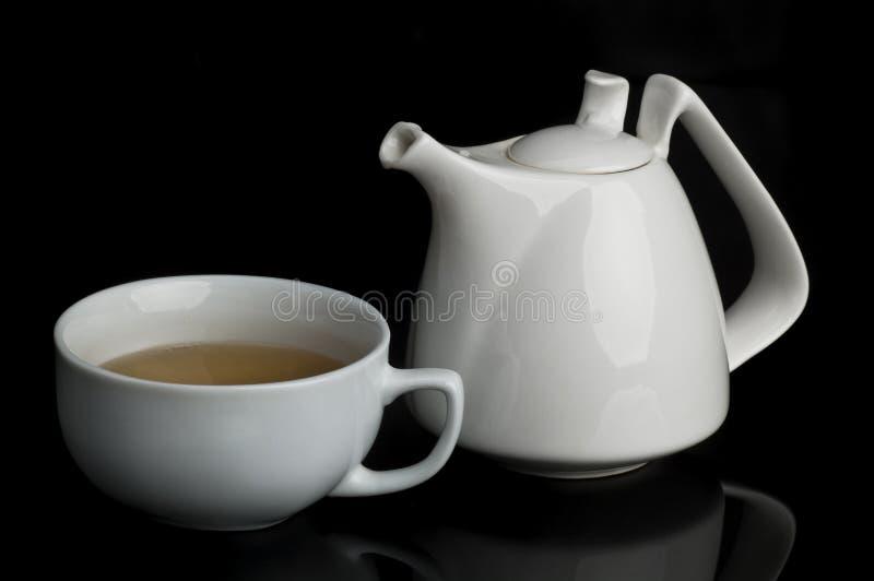 Het stilleven van de thee stock fotografie
