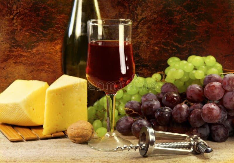 Het Stilleven van de wijn royalty-vrije stock foto