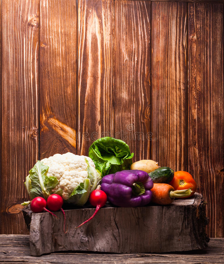 Het stilleven van groenten royalty-vrije stock foto