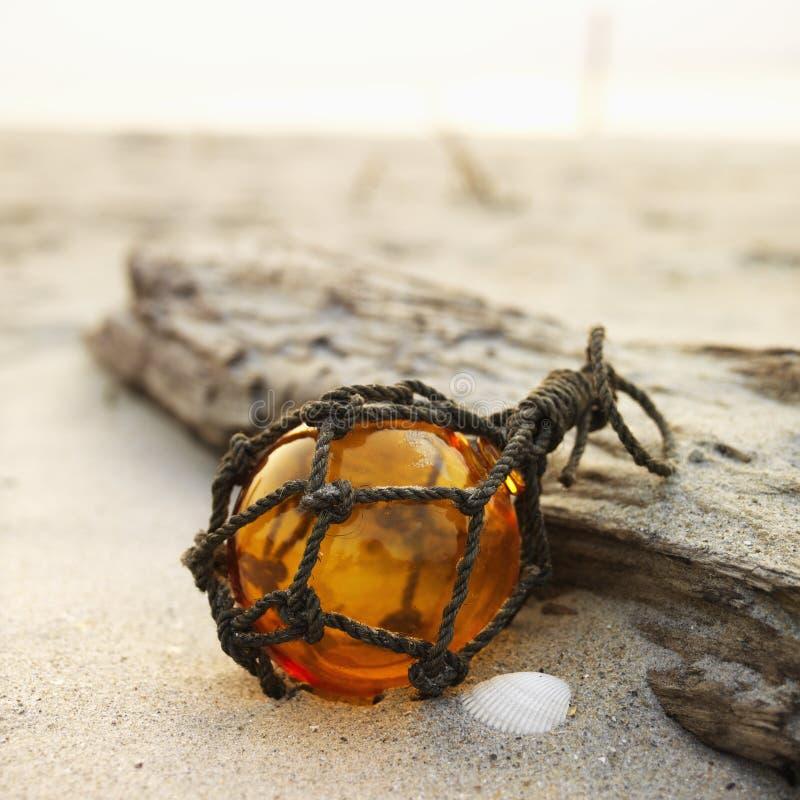 Het stilleven van het strand. stock afbeelding