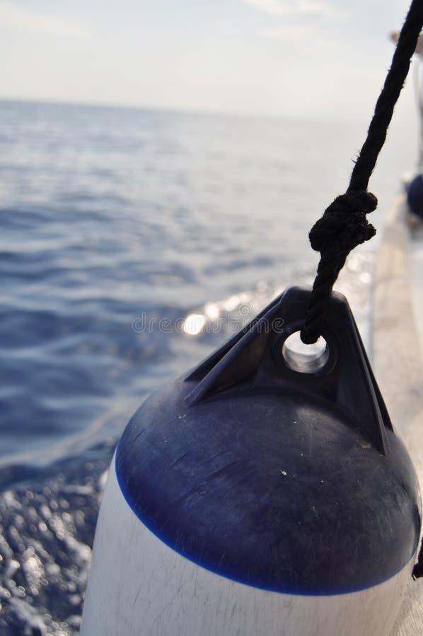 Het Stootkussen van de boot royalty-vrije stock foto