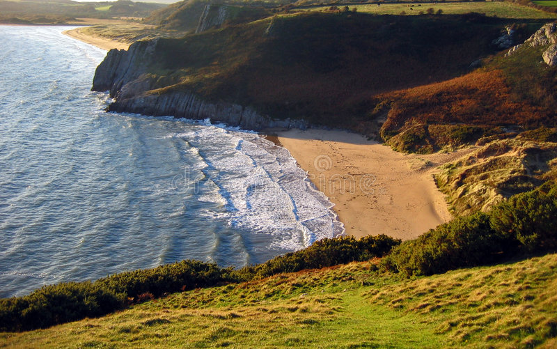 Het strand royalty-vrije stock foto's