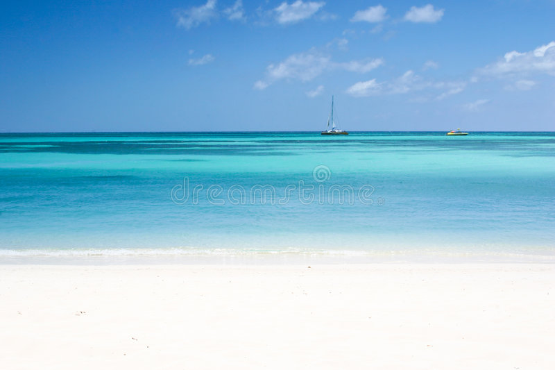 Het strand stock afbeelding