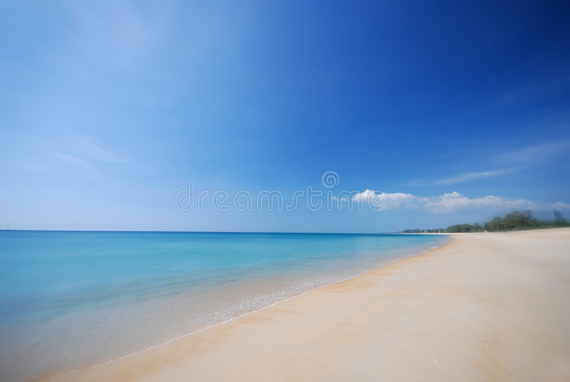 het strand:)