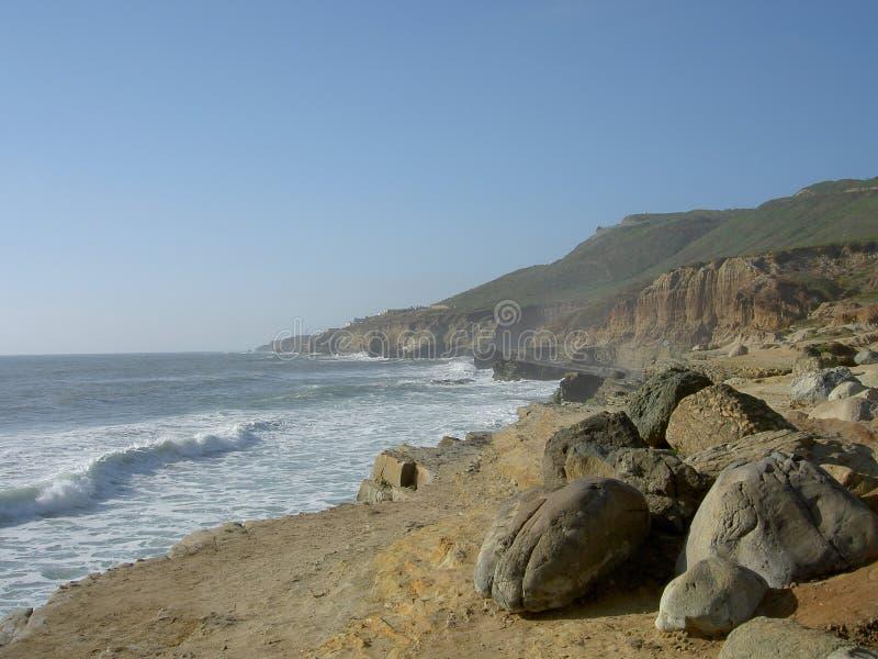 Het Strand van San Diego stock foto