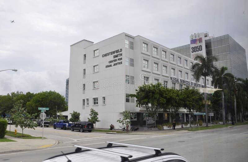 Het Strand FL, 09 van Miami Augustus: Historische de Bouwdetails van het Strand van Miami in Florida stock fotografie