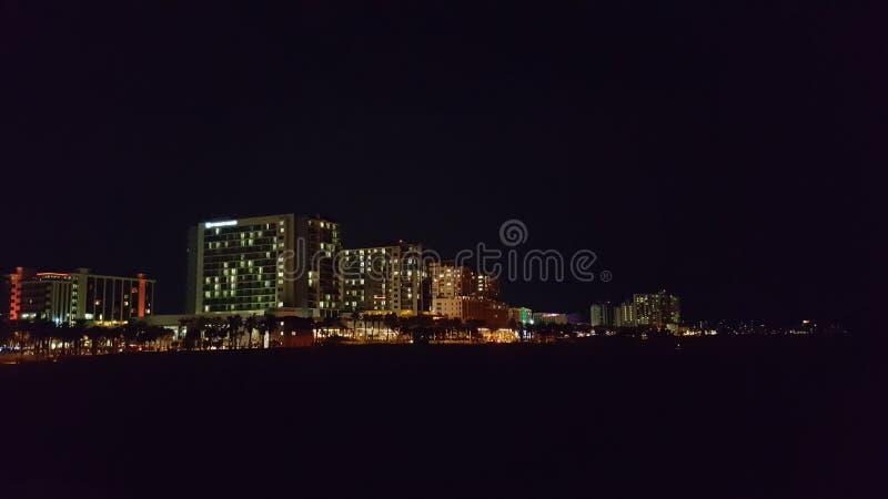 Het Strand Florida van Clearwater stock afbeeldingen