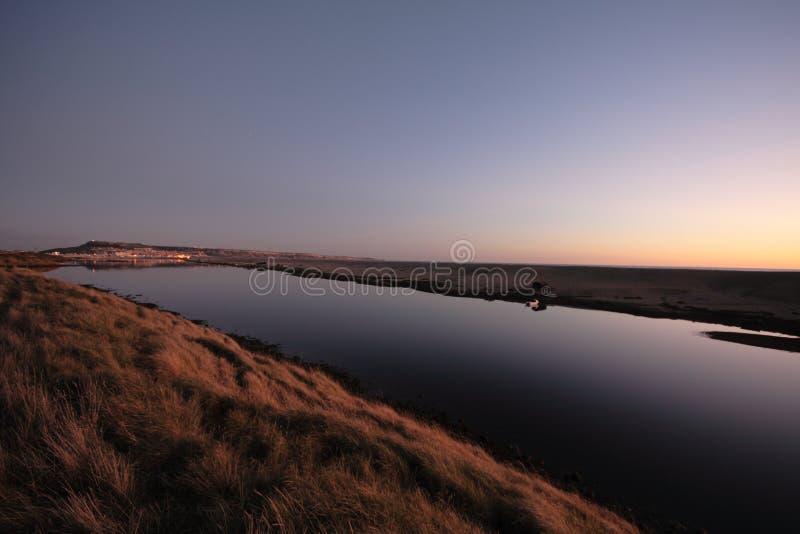 Het strand het UK Dorset en Portland van Chesil stock foto