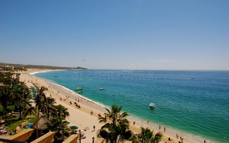 Het Strand Los Cabos Mexico van Medano royalty-vrije stock foto