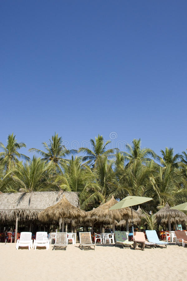 Het strand Mexico van San Pancho San Francisco royalty-vrije stock fotografie
