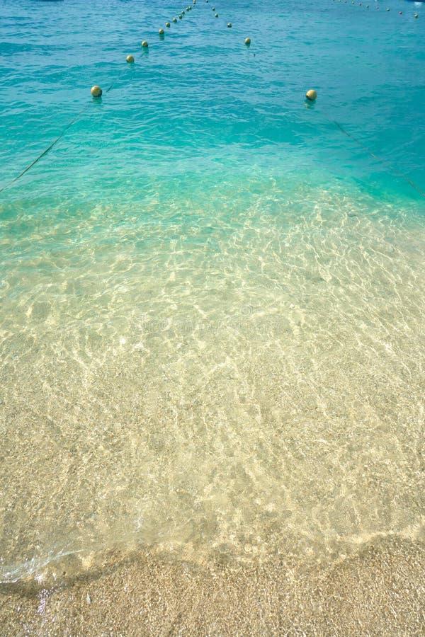 Het strand Riviera Maya Mexico van het Cozumeleiland royalty-vrije stock afbeeldingen