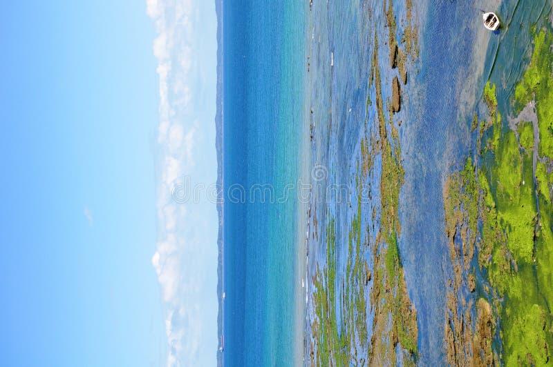Het Strand van Bahia in Brazilië royalty-vrije stock foto's