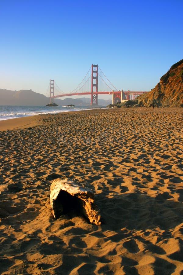 Baker Beach, San Francisco royalty-vrije stock afbeelding