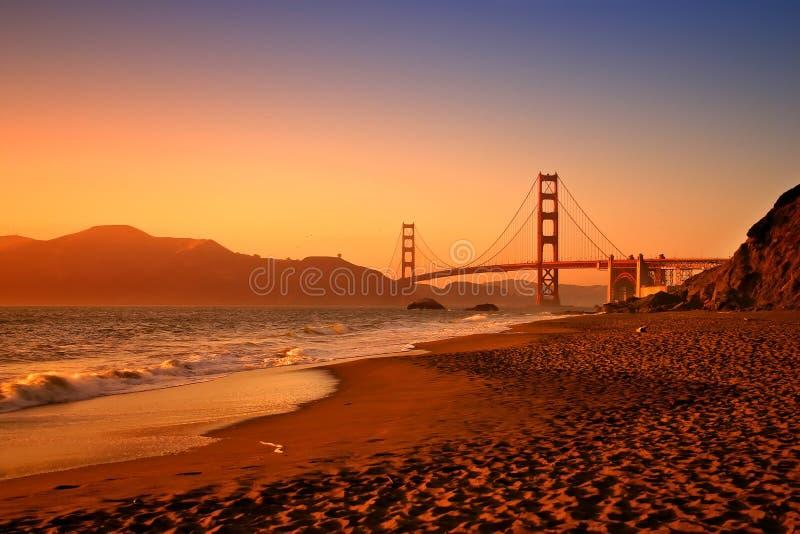 Het Strand van Baker, San Francisco royalty-vrije stock afbeelding