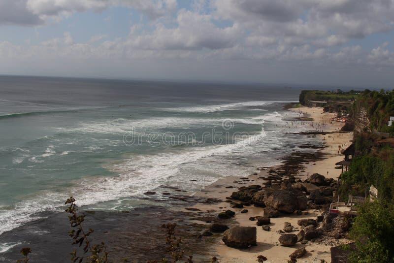 Het Strand van Bali stock afbeeldingen