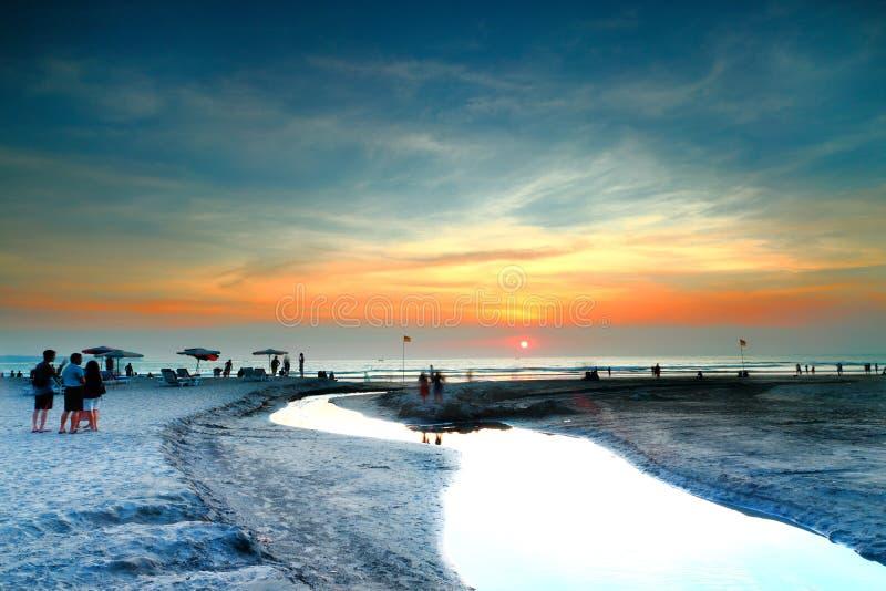 Het Strand van Bali royalty-vrije stock fotografie