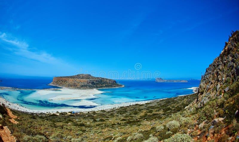 Het strand van Balos, Kreta royalty-vrije stock afbeelding