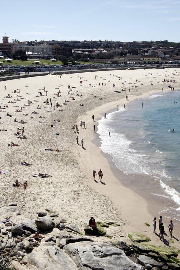 Het Strand van Bondi royalty-vrije stock foto's