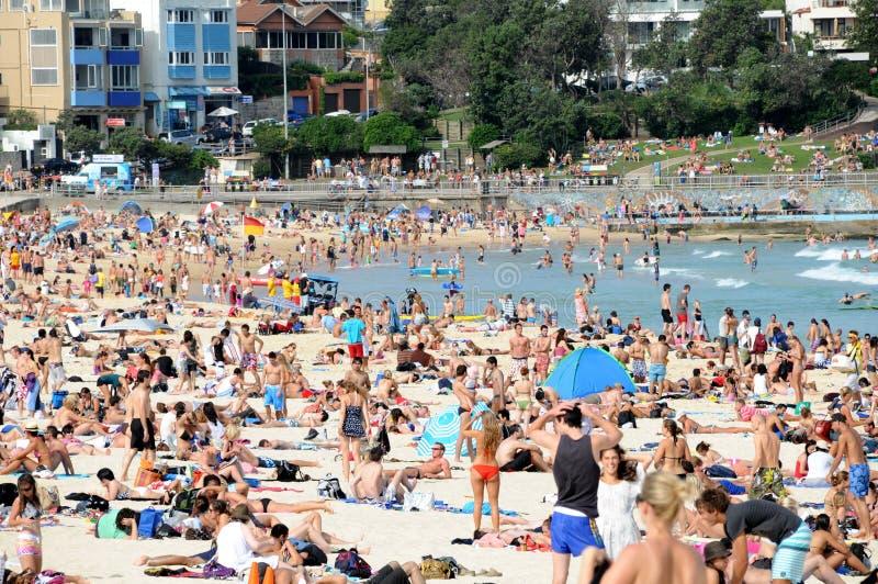 Het Strand van Bondi royalty-vrije stock afbeeldingen
