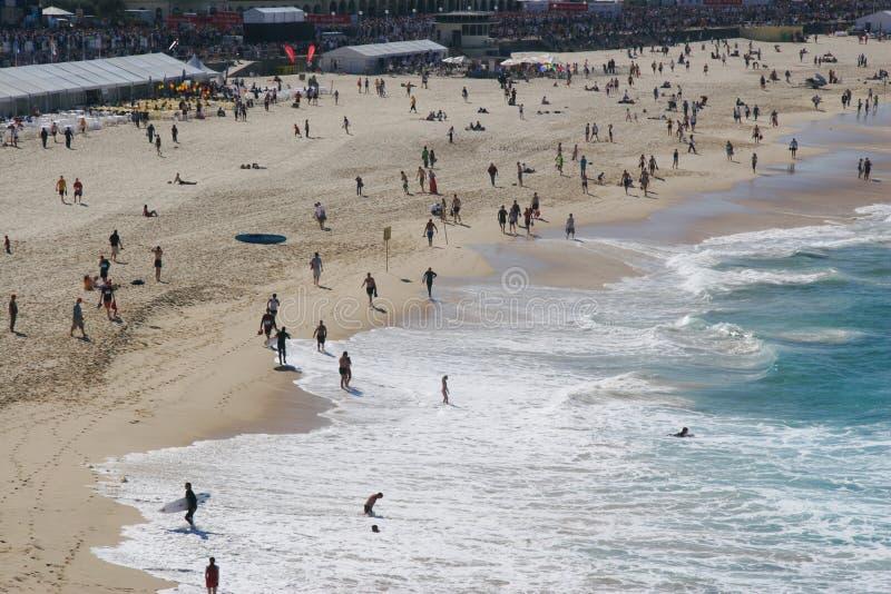 Het Strand van Bondi stock afbeelding