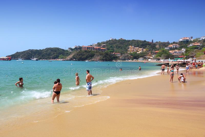 Het Strand van Brazilië stock fotografie